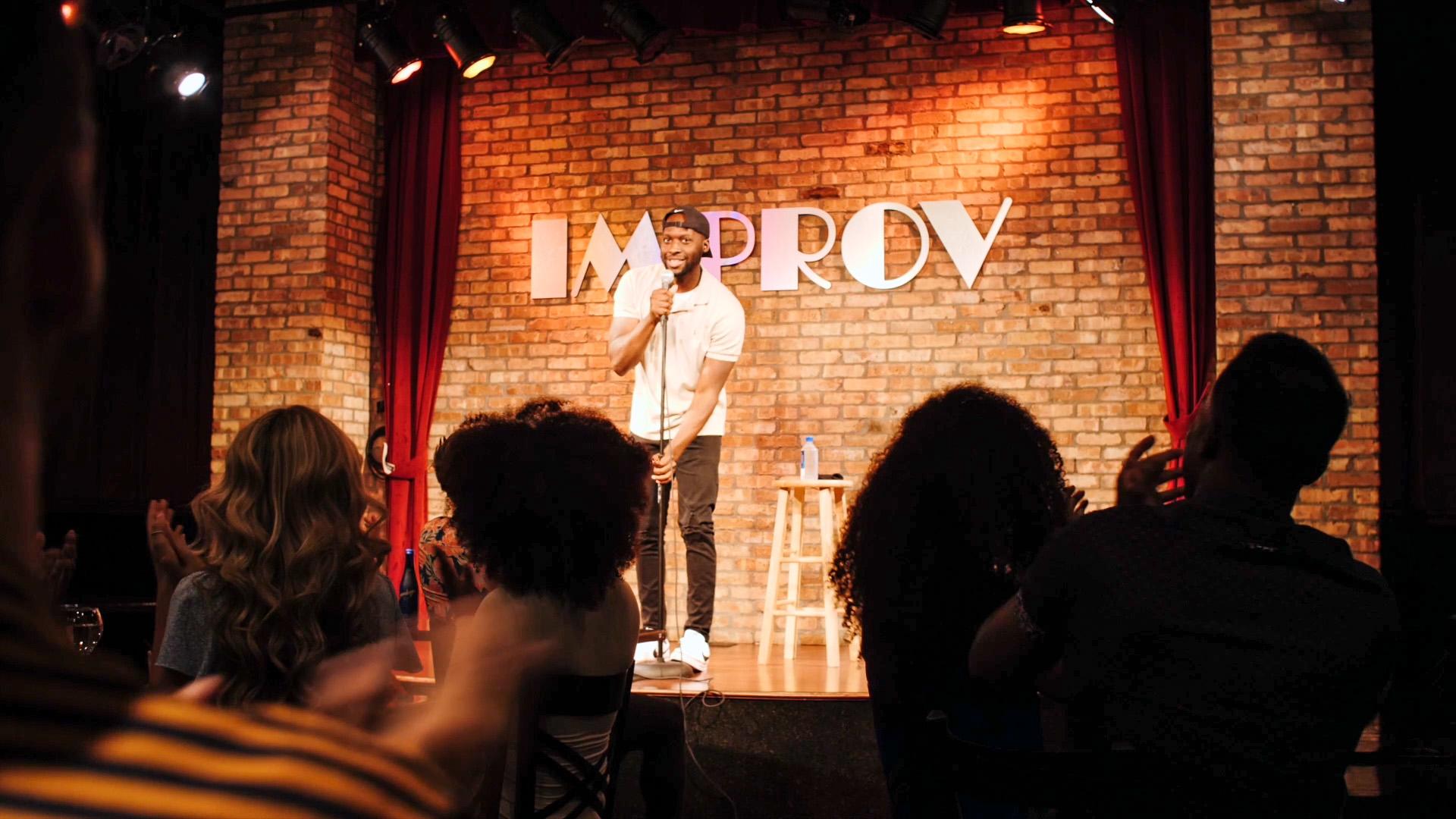 The Orlando Improv Comedy Theater banner